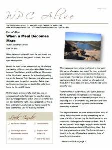 Newsletter 05.2013