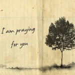 I am praying for you graphic