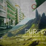 Purpose by Tom Lancaster