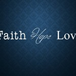 Faith Hope Love slider