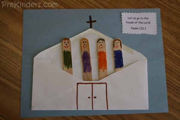 Christian Art Activities For Preschoolers